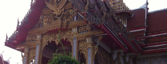 Wat Chaithararam (Wat Chalong) is one of Holy Places in Thailand that I've checked in!!.