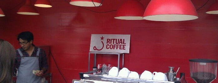 Ritual Coffee Roasters is one of My favourite places in SF.