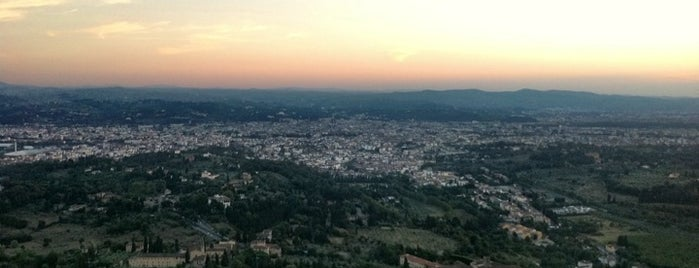 Fiesole is one of Florence Bars, Cafes, Food, POI.