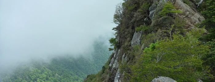 南尖峰 is one of 四国の山.