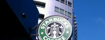 Starbucks is one of Get Caffeinated.