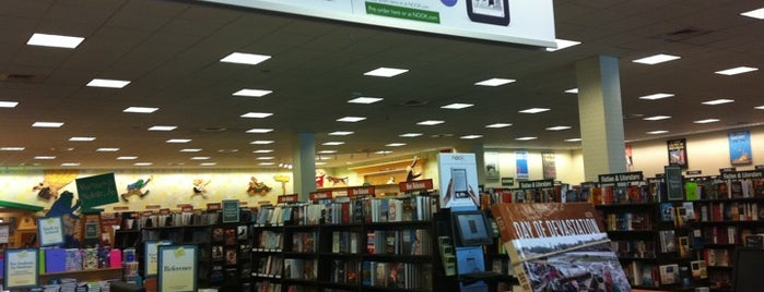 Barnes & Noble is one of Huntsville Alabama.