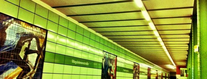 U Magdalenenstraße is one of U-Bahn Berlin.