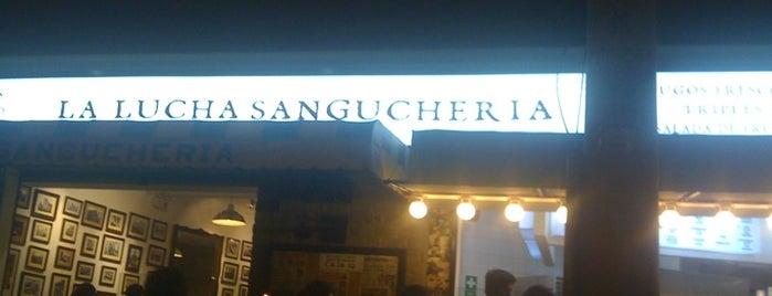 "La Lucha Sanguchería Criolla is one of Restaurantes ""Info Lllama""."