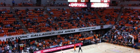 Gallagher-Iba Arena is one of Famous OSU Landmarks.