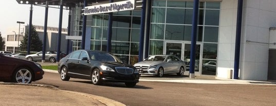 Mercedes-Benz of Naperville is one of Naperville, IL.