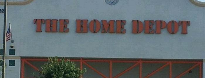 The Home Depot is one of Places I've been or go to..