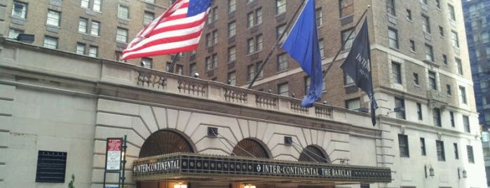 InterContinental New York Barclay is one of Hotels Round The World.