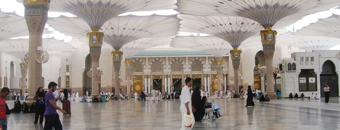 The Prophet's Mosque is one of Best places in Al Madinah, Saudi Arabia.
