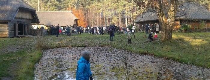 The Ethnographic Open-Air Museum of Latvia is one of Unveil Riga : Atklāj Rīgu : Открой Ригу.