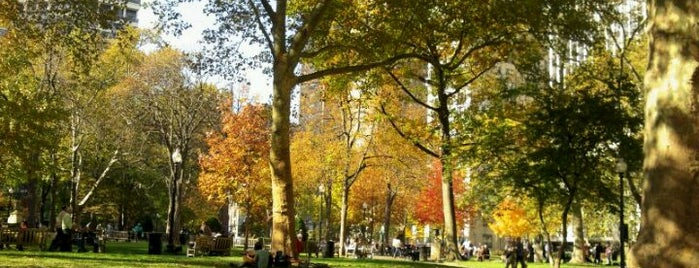 Rittenhouse Square is one of Philly's Phinest Sightseeing Guide.