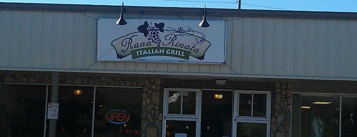 Rana Rinata Italian Grille is one of Top 10 dinner spots in Franklin, NC.