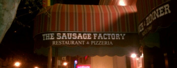 The Sausage Factory is one of Places I want to go.