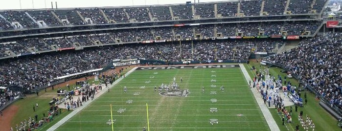 Oakland-Alameda County Coliseum is one of Great Sport Locations Across United States.