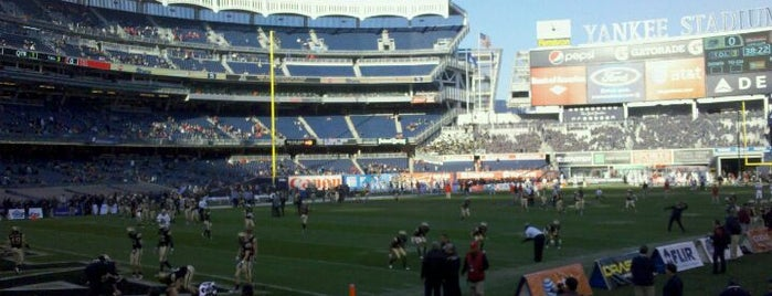 Yankee Stadium is one of Great Sport Locations Across United States.