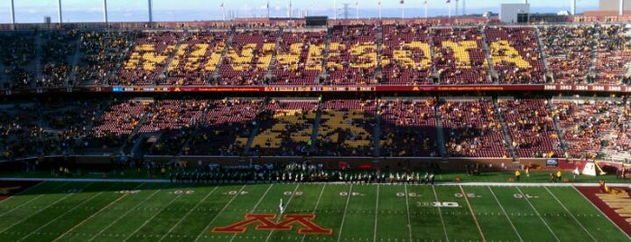 TCF Bank Stadium is one of B1G Stadiums.