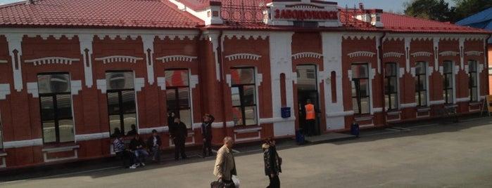 Ж/Д вокзал Заводоуковск is one of Транссибирская магистраль.