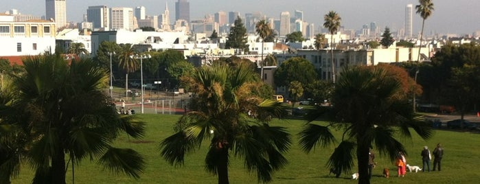 Mission Dolores Park is one of Eat, Drink & Enjoy San Francisco.
