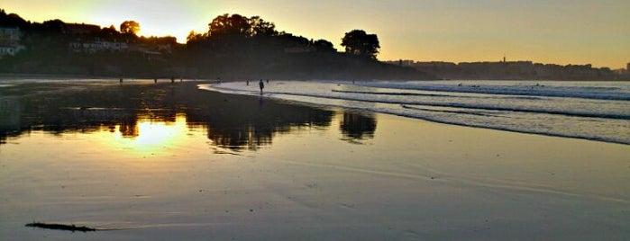 Praia de Bastiagueiro is one of De mucho us.