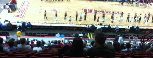 Mullins Center is one of Great Sport Locations Across United States.