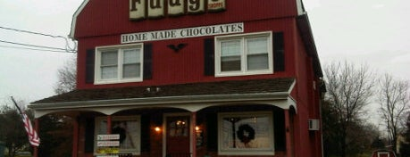 The Fudge Shoppe is one of Sweet Tooth Stops.