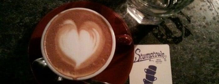 Stumptown Coffee Roasters is one of Best Coffee Spots ( aka Killer Coffee).