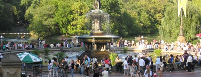 Bethesda Fountain is one of Discover: Central Park, NYC.