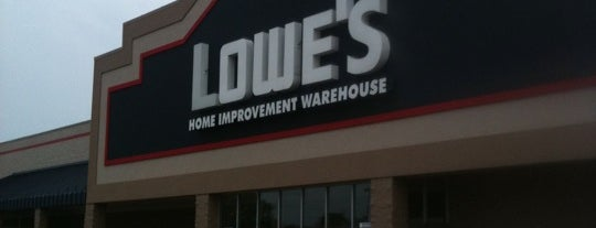 Lowe's Home Improvement is one of Halloween.