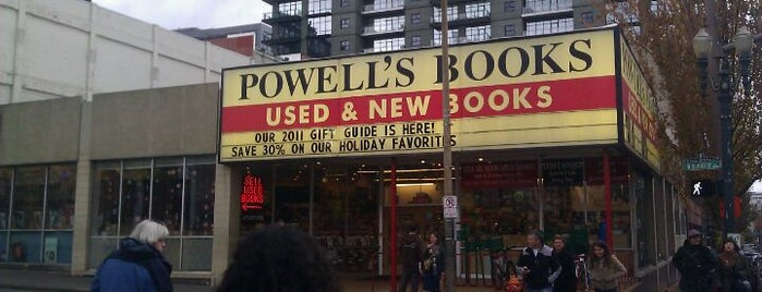 Powell's City of Books is one of PDX Hot Spots!.