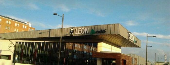 Estación de León is one of Transportes, Viajes, etc..