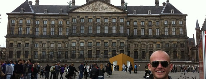 Dam Square is one of Amsterdam ADventure.