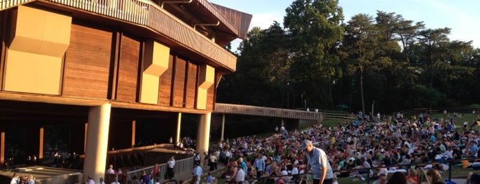 Wolf Trap National Park for the Performing Arts (Filene Center) is one of Places I go.