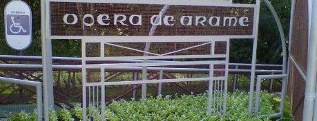 Ópera de Arame is one of parques.