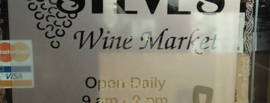 Steve's Wine Market is one of Td1.