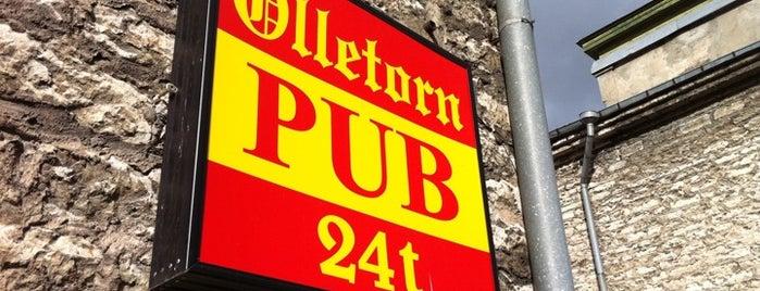 Õlletorn Pub is one of The Barman's bars in Tallinn.