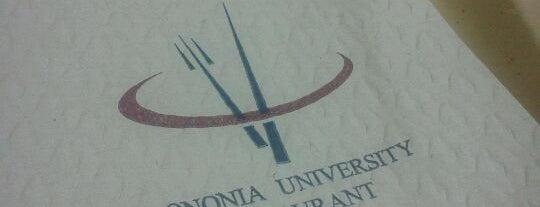 Bononia University Restaurant is one of Europa.