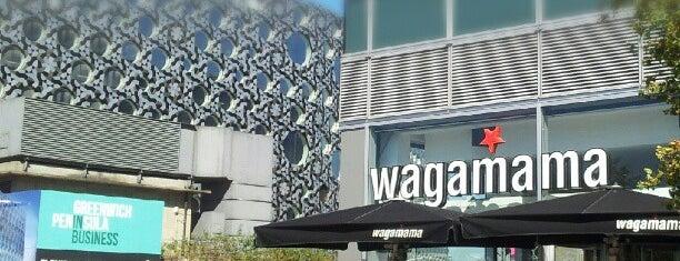 wagamama is one of Al fresco restaurants in London.