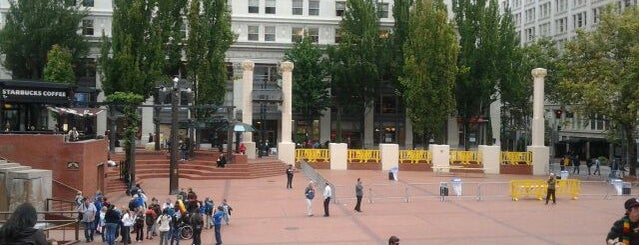 Pioneer Courthouse Square is one of PDX Hot Spots!.