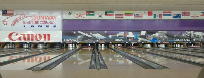 Sunway Mega Lanes is one of F&B.