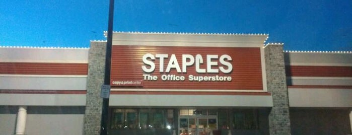 Staples - CLOSED is one of JODY & MY PLACES Owings Mills, & BALTIMORE,MD.