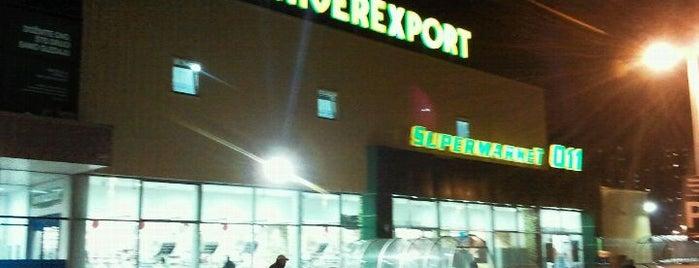 Univerexport is one of Blokovski supermarketi.