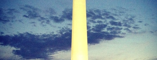 Washington Monument is one of things done with the family and doug.