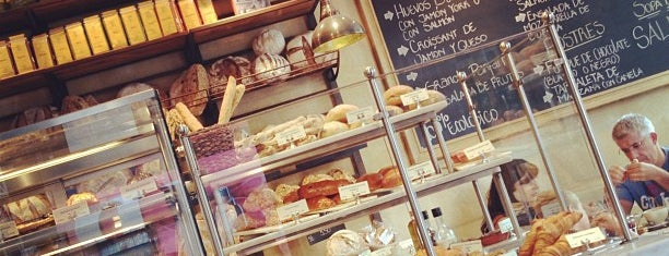 Le Pain Quotidien is one of Rincones madrileños..