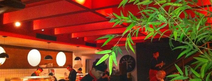 Kanji Sushi Lounge is one of Restaurantes.