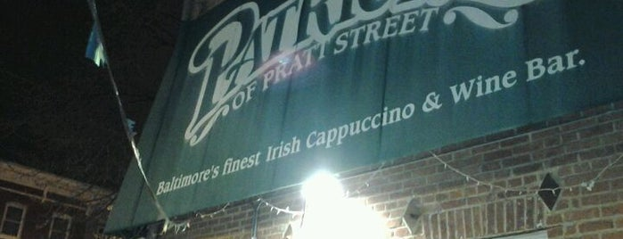 Patrick's of Pratt Street is one of The Great Baltimore Check-In.