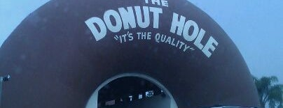 The Donut Hole is one of Buildings Shaped Like the Food They Serve.