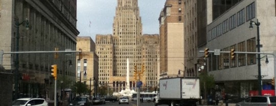 Lafayette Square is one of StorefrontSticker City Guides: Buffalo.