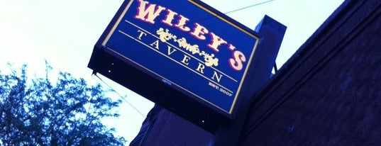 Wiley's Tavern is one of Cheap Wings All Week!.