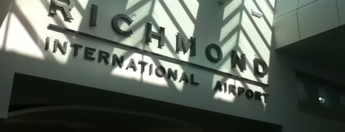 Richmond International Airport (RIC) is one of Airports in US, Canada, Mexico and South America.