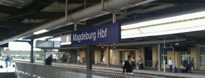 Magdeburg Hauptbahnhof is one of Bahnhöfe DB.